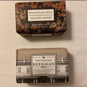 2 Beekman 1802 Goat Milk Soaps